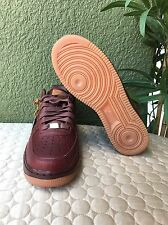 Nike Air Force 1 iD WILL Leather Goods Brown/Gum 921294-991 Men's Shoes Size 7.5