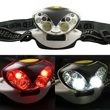 1200 Lumens 6 LED Lights 3 Modes Headlight Headlamp flashlight head light lamp