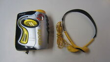 Sony Sports Mega Bass Walkman, AM/FM & Cassette w/ Headphones, Model WM-FS111