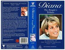 DIANA - THE PEOPLE'S TRIBUTE  *RARE VHS TAPE*   ROADSHOW