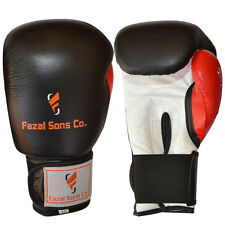Boxing Gloves Sparring Kickboxing Fight Grappling Glove Muay thai Black/Red,10oz