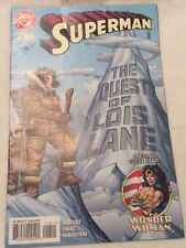 Rare DC Comics 'Superman The Quest Of Lois Lane' #118 Dec 1996 + Wonder Woman