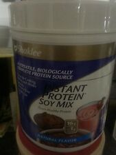 Shaklee instant protein Soy Isolate 30 day supply amino acids 100%  Nat Flavor