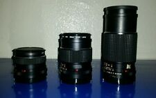Mamiya sekor c lot of 3