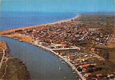 BR48092 Valras plage vue aerienne sur l embouchure      France