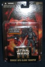 Star Wars ROTS Exclusive Covert Ops Clone Trooper Action Figure NIB