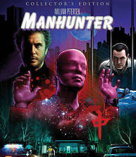 Manhunter (Blu-ray Disc, 2016, 2-Disc Set, Collectors Edition)