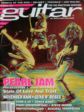 GUITAR 12 1992 Pearl Jam Warrant Suicidal Tendencies Genesis Joe Walsh James Dio