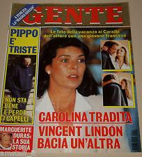 GENTE=1996/11=CAROLINE DE MONACO=VINCENT LINDON=ANTONIO BANDERAS=PAVAROTTI L.=
