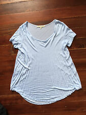 Urban Outfitters Truly Madly Deeply loose scoop neck Baby Blue xs