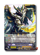 Cardfight Vanguard  x 2 Dignified Gold Dragon - TD08/002EN - TD Mint