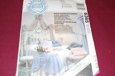 McCalls Pattern # 6365 - Wall Canopy, Table Skirt, Window Treatments, More - NEW