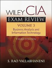 Wiley CIA Exam Review, Business Analysis and Information Technology (Wiley CIA E