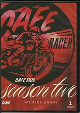 CAFE RACER SEASON TWO (2) WE RIDE AGAIN - 2 DVD BOX SET