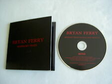 BRYAN FERRY Midnight Train (Ash Howes Radio Mix) promo CD single Avonmore