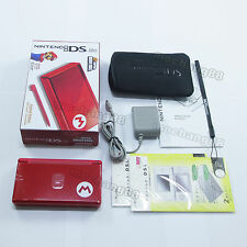 New M Red Nintendo DS Lite HandHeld console System+gift