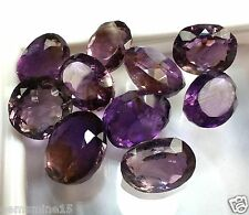 81.65 CT Amethyst 10 Pcs 100% Natural AAA+ Quality Wholesale Lot Gems W1744