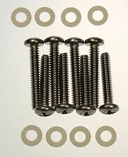 Lucas L721 Front Light/ Indicator Lens Screws Stainless Steel & Washers