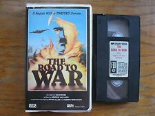THE ROAD TO WAR VHS CLAMSHELL MPI HOME VIDEO WORLD WAR 2 DOCUMENTARY 1985 RARE
