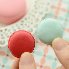 New 5X/lot Chic Cute Macarons Colors Rubber Pencil Eraser Sweet Stationery Set W