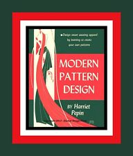 1942-MODERN PATTERN DESIGN-FLAT PATTERN DRAFTING-FASHION DESIGN-LESSONS-CD