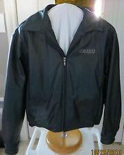 Portland Trail Blazers Black Leather Men's Lined Jacket Size L Gear Sport