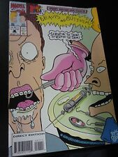Beavis and Butt-Head #1 1994 MTV Marvel Comics Direct Edition Excellent