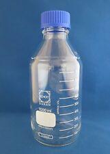 Schott Duran Graduated  Media Storage Bottle  1000mL w/ GL 45 Cap