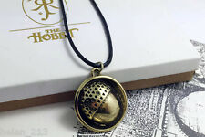 The Hobbit Bilbo's Acorn Button Pin pendant necklace LOTR Fashion Jewelry