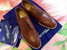 NEW JUNYA WATANABE COMME des GARÇONS MAN LEATHER BROWN SHOES M/JAPAN S/9 or M/10