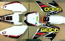 honda crf 70 graphics 02-12 graphics  w/plastics free decal sheet 04-2010 crf 80