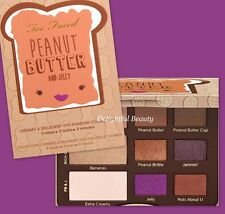 Too Faced PEANUT BUTTER AND JELLY Eyeshadow Collection ~ New in Box