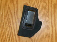 BLACK-IWB Leather Concealment Holster Colt Junior, Astra, BABY BROWNING Jimminez
