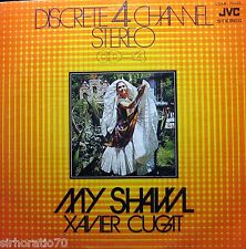 XAVIER CUGAT My Shawl LP Japan JVC Discrete CD-4 Channel Stereo