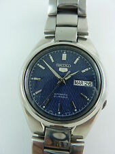 Gents Seiko 5 Automatic 7s26-02f0  Japan watch see thru back