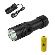 Underwater 100M 5000LM CREE XML U2 LED Scuba Diving Flashlight Taschenlamp 26650
