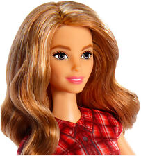 Barbie Farmer Clothes Doll Brunette Hair Real Original Toy Christmas Girl Gift