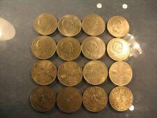 Sixteen crowns coins of Elizabeth II including churchill crowns