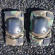 Knee Pads All Terrain Tactical USGI Military Woodland Camo LARGE