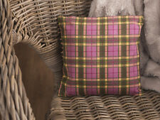 Katie Alice Highland gettano Piccolo Shabby Chic Tartan Cuscino Decorativo