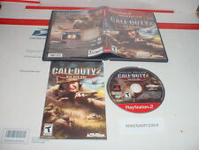 CALL OF DUTY 2: BIG RED ONE game complete in case (GH) for Playstation 2 PS2