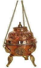 Copper and Brass Hanging Incense Censer!