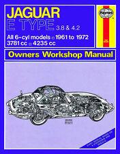 0140 Haynes Jaguar E Type (1961 - 1972) up to L Workshop Manual