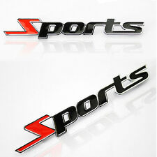 New Racing Sports Sticker Sports 3D Chrome Badge Logo Sticker for Car & Bike