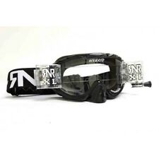 RIP N ROLL FULLY LOADED HYBRID MOTOCROSS ENDURO MX XL GOGGLES RnR - BLACK