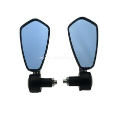 "7/8"" Handlebar Aluminum Motocycle Rearview Mirrors Moto End Motor Side Mirror"