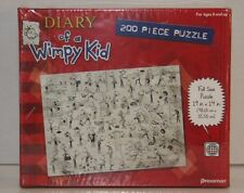 Diary of a Wimpy Kid Puzzle ~ NEW Factory Sealed ~ 200 piece Red Puzzle Pressman