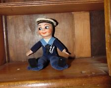 Vintage Cloth Wellings  / Chad Valley Sailor DOll