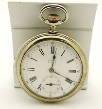 RARE 1925 LONGINES 3 GOLD STARS VINTAGE ANTIQUE POCKET WATCH RUNNING