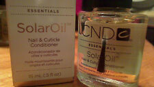 CND SOLAR OIL NAIL & CUTICLE CONDITIONER SHIPS NOW .5 OZ GREAT SHELLAC FINISHING